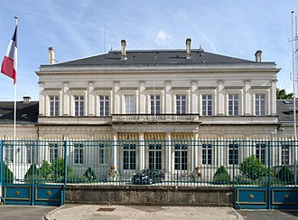 Charente - Prefecture building of the Charente department, in Angoulême