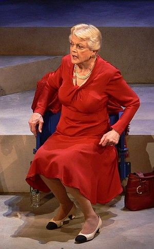 Deuce (play) - Angela Lansbury as Leona Mullen in 'Deuce'