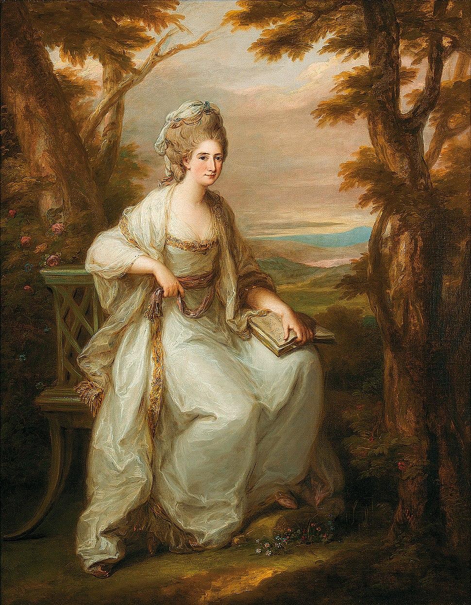Angelika Kauffmann Anne Loudoun Lady Henderseon of Fordell 1771