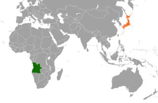 Angola–Japan relations Diplomatic relations between the Republic of Angola and Japan