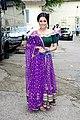 Anita Hassanandani snapped promoting the film Bareilly Ki Barfi (02).jpg