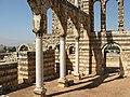 Anjar, Lebanon, Arches and stone walls, Umayyad palace.jpg
