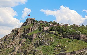 Ankara Castle - Panoramic view of Ankara Castle