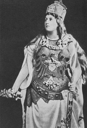 Anna Führing - Image: Anna Fuehring als Germania, 1891