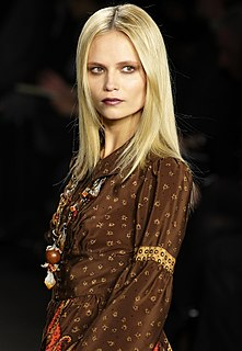 Natasha Poly Russian model