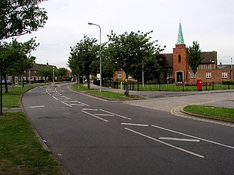 Greatfield Estate, Kingston upon Hull - Image: Annandale Road, Greatfield Estate geograph.org.uk 20417