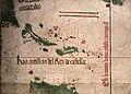 Anonimo portoghese, carta navale per le isole nuovamente trovate in la parte dell'india (de cantino), 1501-02 (bibl. estense) 02.jpg