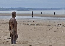 Some Of The Iron Men From Antony Gormley Sculptures