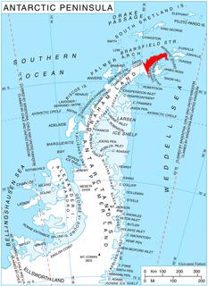 Aitkenhead Glacier glacier in Antarctica