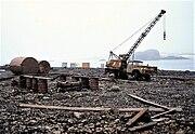 Antarctica, pollution, environment, Russia, Bellingshausen 1