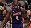 Antawn Jamison Lakers laughing 2013.jpg