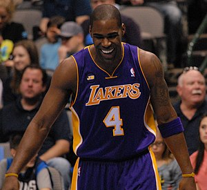 Antawn Jamison - Jamison playing for the Lakers, 2013