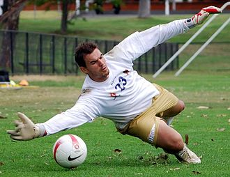 Ante Covic - Ante Covic training with Newcastle in 2008.