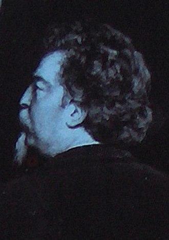 Antoine-Félix Bouré - Detail from group portrait of the Société Libre des Beaux-Arts by Edmond Lambrichs