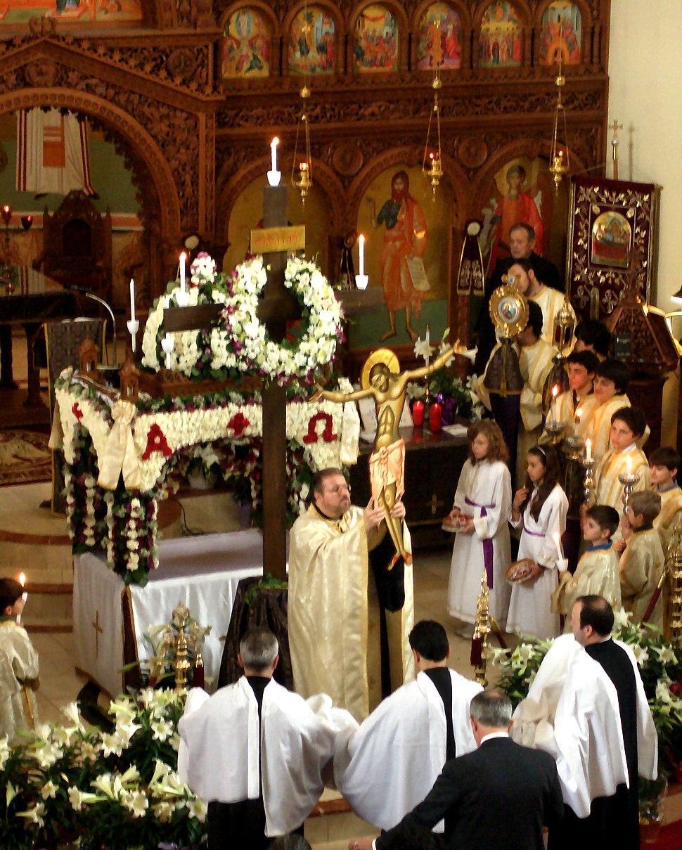 Apokathylosis - Annunciation Greek Orthodox Cathedral Toronto (2010)