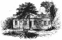 Drawing of cabin