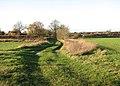 Approaching School Road on a meandering lane - geograph.org.uk - 1596478.jpg