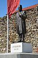 Aqif Elbasani Statue in Elbasan 2013-09.jpg