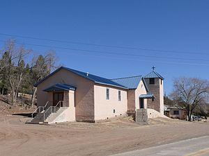 Aragon, New Mexico - Image: Aragon Santo Niño church