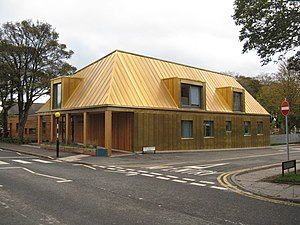 Malcolm Fraser (architect) - Arcadia Nursery, King's Buildings, University of Edinburgh 2014.