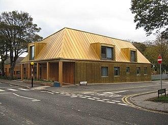 Malcolm Fraser (architect) - Arcadia Nursery, King's Buildings, University of Edinburgh 2014.