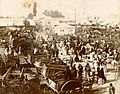 Archivo General de la Nación Argentina 1890 aprox Córdoba, Carretas en el mercado.jpg