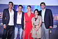 Arjun Rampal, Madhur Bhandarkar, Kareena Kapoor, Divya Dutta, Siddharth Roy Kapur at the First look launch of 'Heroine' 01.jpg