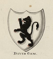 Arms of Sir Dafydd Gam