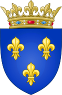 Arms of the Kingdom of France (Moderne).svg