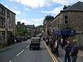 Army Convoy in High Street Uppermill - geograph.org.uk - 917311.jpg