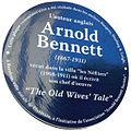 Arnold Bennett plaque, Fontainebleau.jpeg