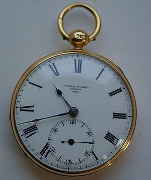 John Arnold (watchmaker) - Pocket watch by Arnold and Dent hallmarked 1835
