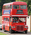 Arriva Heritage Fleet Routemaster coach RMC1453 (453 CLT), 2011 Alton bus rally (1).jpg
