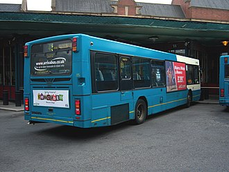 Wright Renown - Image: Arriva bus 4506 Volvo B10BLE Wrightbus Renown V506 DFT in Newcastle 9 May 2009 pic 2