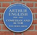Arthur English Blue Plaque 2017.jpg