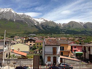 Frazione in Abruzzo, Italy