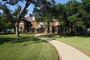 R. Q. Astin House - Astin Mansion Frontal View