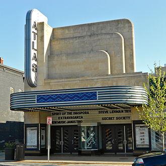Atlas Performing Arts Center - Image: Atlas Theater sq DC