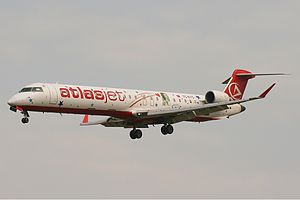 AtlasGlobal - A former Atlasjet Bombardier CRJ900 retired in 2010