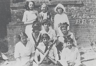 Auburn High School Tigers - Auburn women's baseball team, 1914