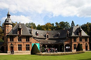 "Château of Val-Duchesse - The reconstructed ""priory"" building at Val-Duchesse"