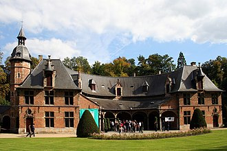 """Château of Val-Duchesse - The reconstructed """"priory"""" building at Val-Duchesse"""
