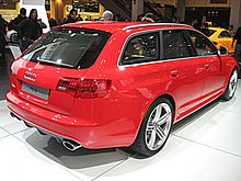 Audi RS6 Avant seconda serie