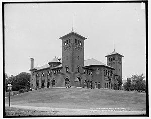 Albert W. Fuller - Auditorium, Northfield Seminary, 1893.