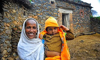 Aunt - An aunt and her niece in Tigray, Ethiopia.