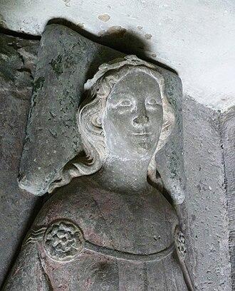 Aurelia of Regensburg - Image: Aurelia von Regensburg