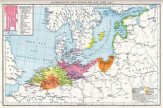 Hanseatic League Trade confederation in Northern Europe