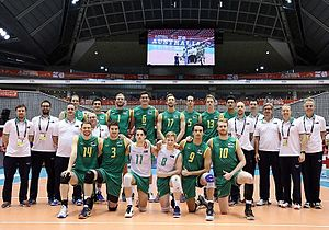Australia men's national volleyball team - Japan, May 28, 2016