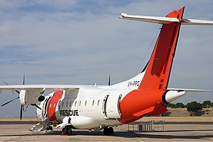 Australian Maritime Safety Authority - Dornier 328-110 at Essendon Airport, 2007