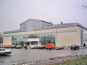 Transport in Belarus - The autobus station of Gomel